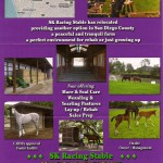 2011 Facilities Ad, California Thoroughbred